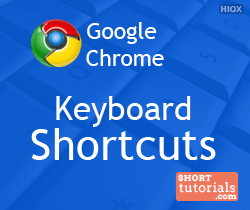 Chrome Keyboard Shortcuts